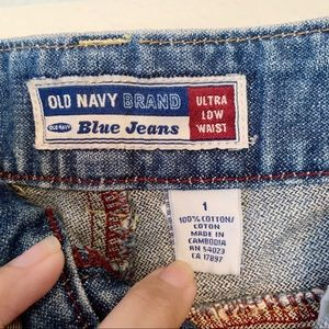 Old Navy Skirts - Old Navy | Denim Mini Skirt Low Waist with Flare